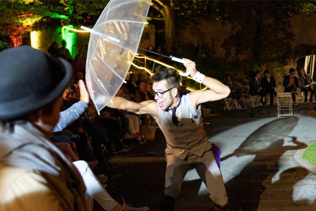 Straßenkunst in der Freilichtbühne statt in der Innenstadt: Diese Veranstaltung Ende August war eine der wenigen in diesem Jahr, die überhaupt stattfinden konnten.