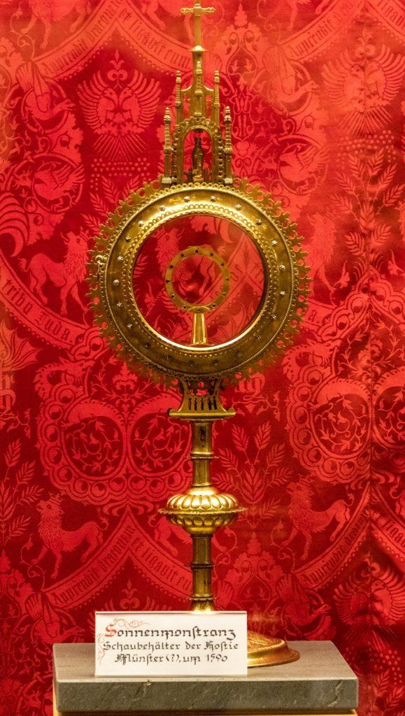 Die Sonnenmonstranz aus dem Jahr 1590