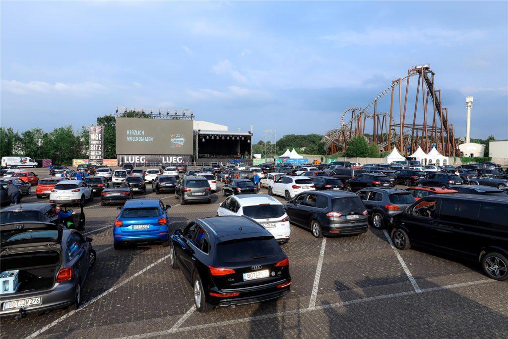 Für viele war es die Flucht aus dem tristen Corona-Alltag: das Autokino am Movie Park. Als besonderes Highlight wurde dort der Brezelfilm gezeigt.