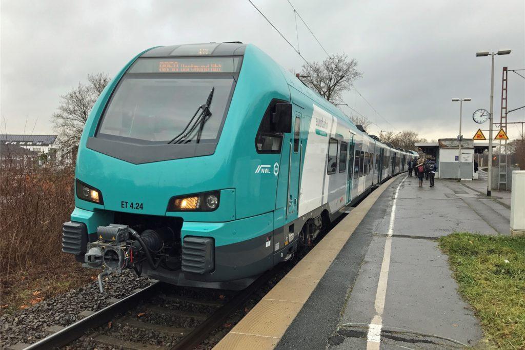 Die Eurobahn fährt wieder zwischen Münster und Dortmund. Reibungslos läuft das aber nicht.
