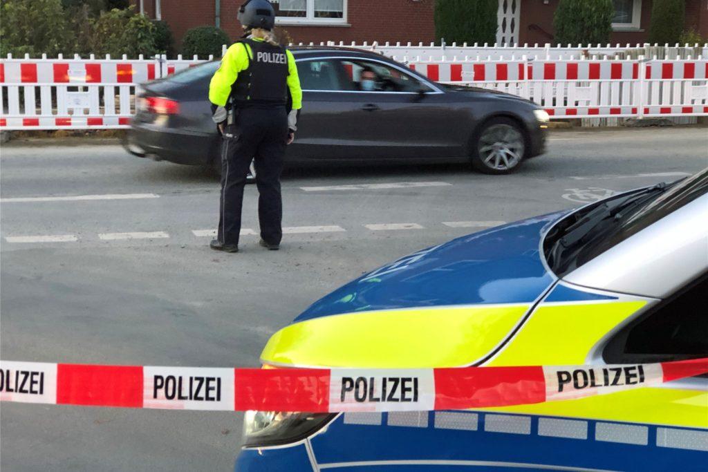 Ein Streit zwischen mehreren Familien sorgte für einen spektakulären Polizeieinsatz in Werne.
