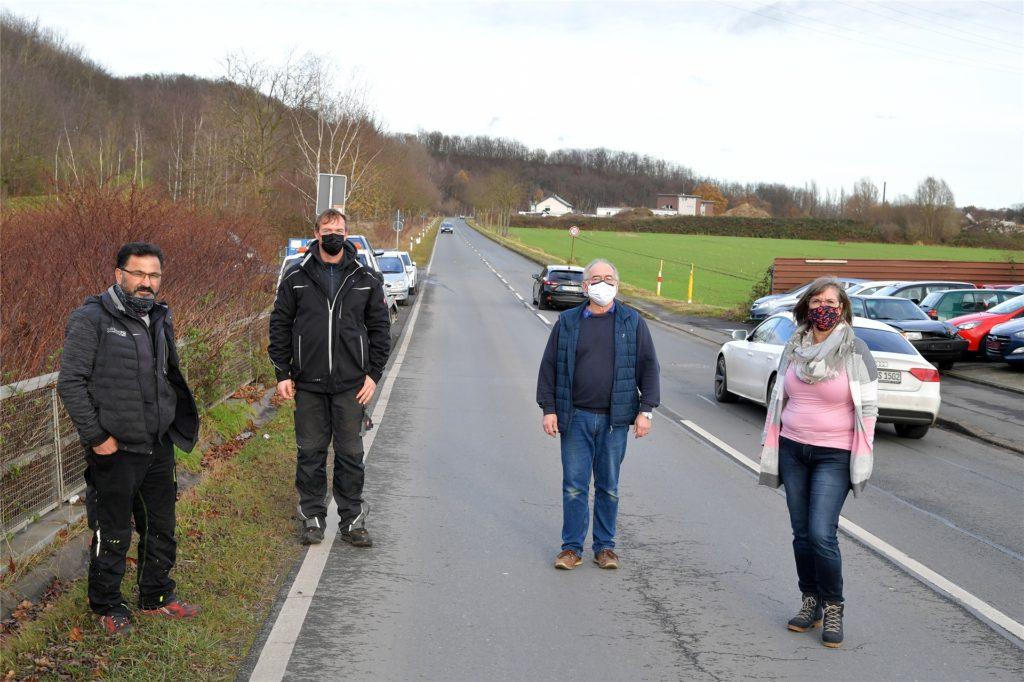 Ziemlich verärgert waren Anlieger der Elsa-Brändström-Straße über die plötzliche Sperrung.