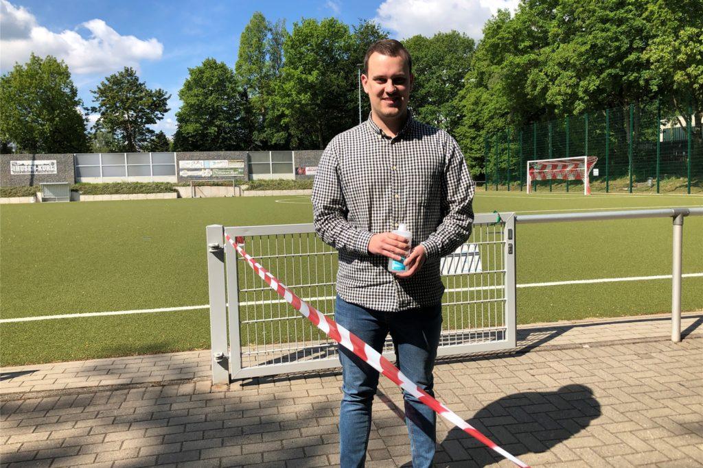 SC-Husen-Kurl-Geschäftsführer Timo Lammert - hier auf einem sommerlichen Archivbild - setzt auf E-Sport als Ergänzung zum herkömmlichen Sportangebot des Vereins