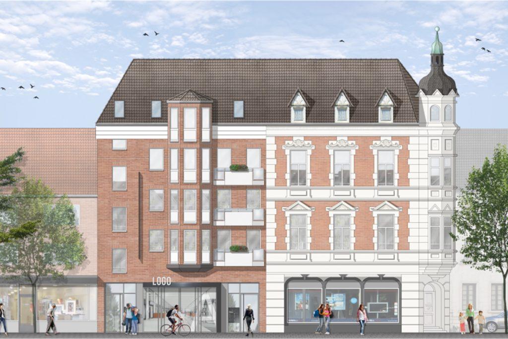 Ein möglicher Entwurf für die Persiluhrpassage an der Münsterstraße. Die Umgestaltung hin zu einem Kulturzentrum sollte 2021 auf der Prioritätenliste stehen.