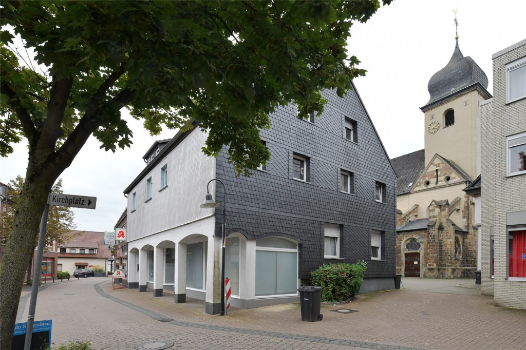 Die Stadt hat die Häuser am Kirchring in Bork gekauft. 2021 sollten dann hier endlich Fakten geschaffen werden.