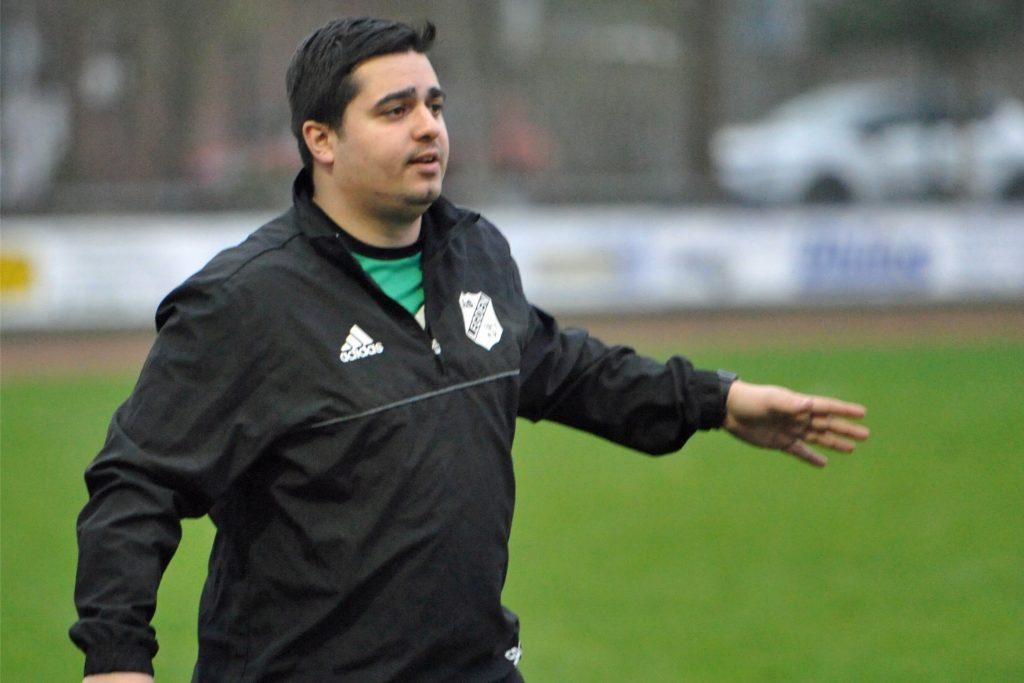 Izzet Günes wechselt als Trainer vom SuS Legden zu Union Wessum.