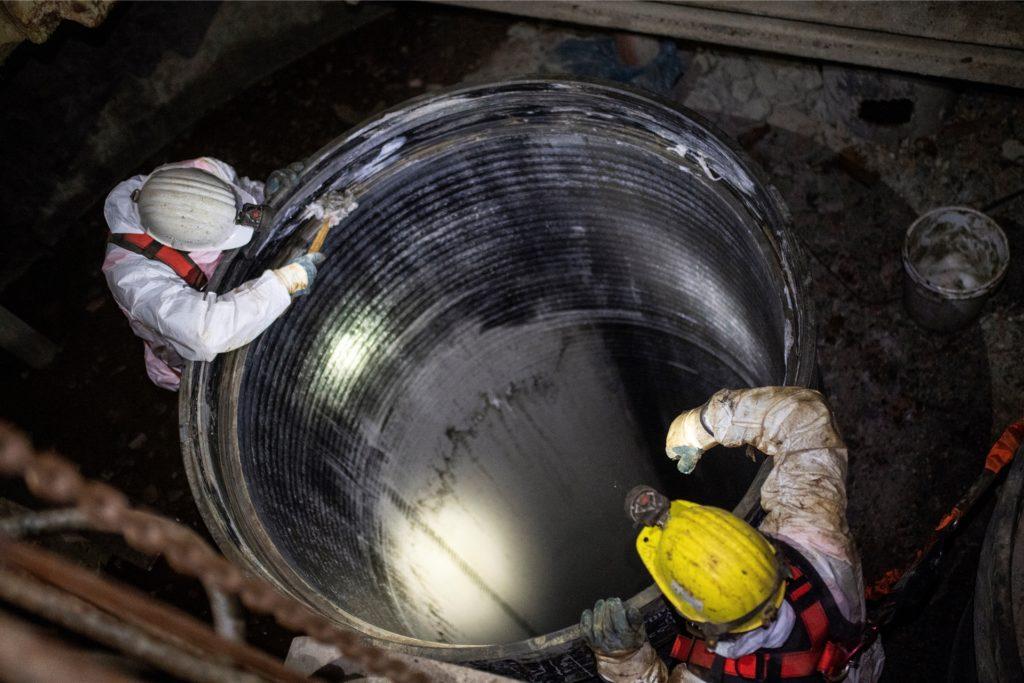 Die Arbeiten im Bergbau nach dem Ende der Kohleförderung werden vermutlich noch bis 2024 andauern.