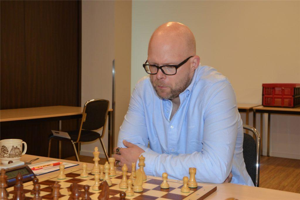 Carsten ter Horst hofft, mit der SG Ahaus/Wessum vom aktuellen schachboom profitieren zu können.