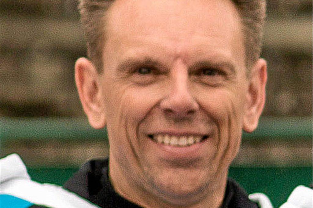 Frank Brockordt, Vorsitzender des Tennisvereins Blau-Weiß