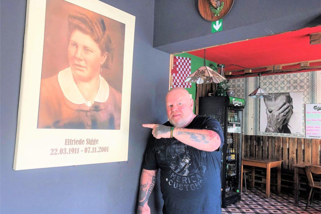 Kay Fräder hat die Restaurants in Kirchlinde und Huckarde nach seiner Großmutter Friedchen benannt.