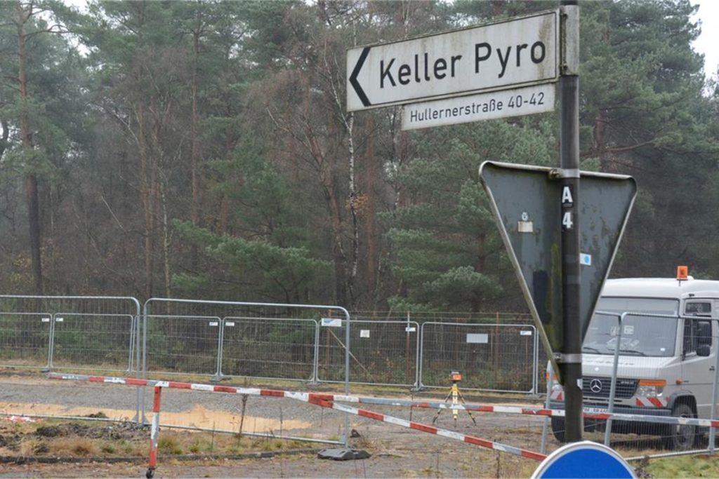 Die Keller Pyro GmbH befindet sich auf einem ehemaligen Gelände der Bundeswehr.