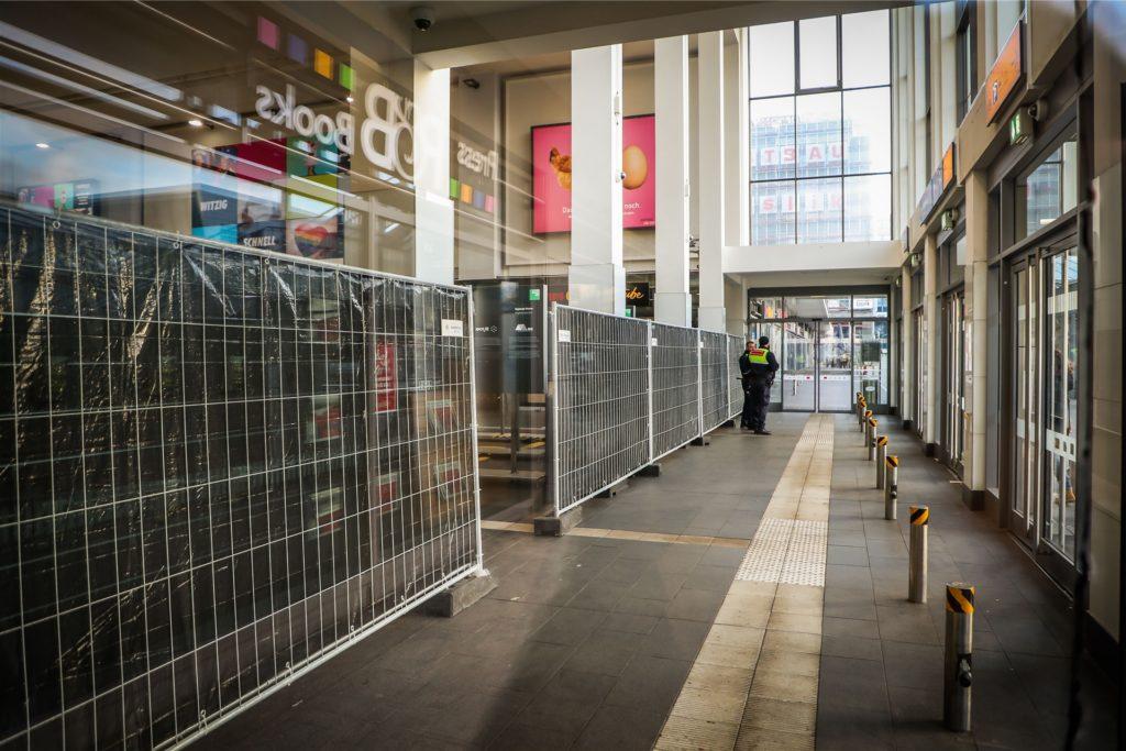 Der Dortmunder Hauptbahnhof wurde am Nachmittag des 12. Januar ebenfalls gesperrt.