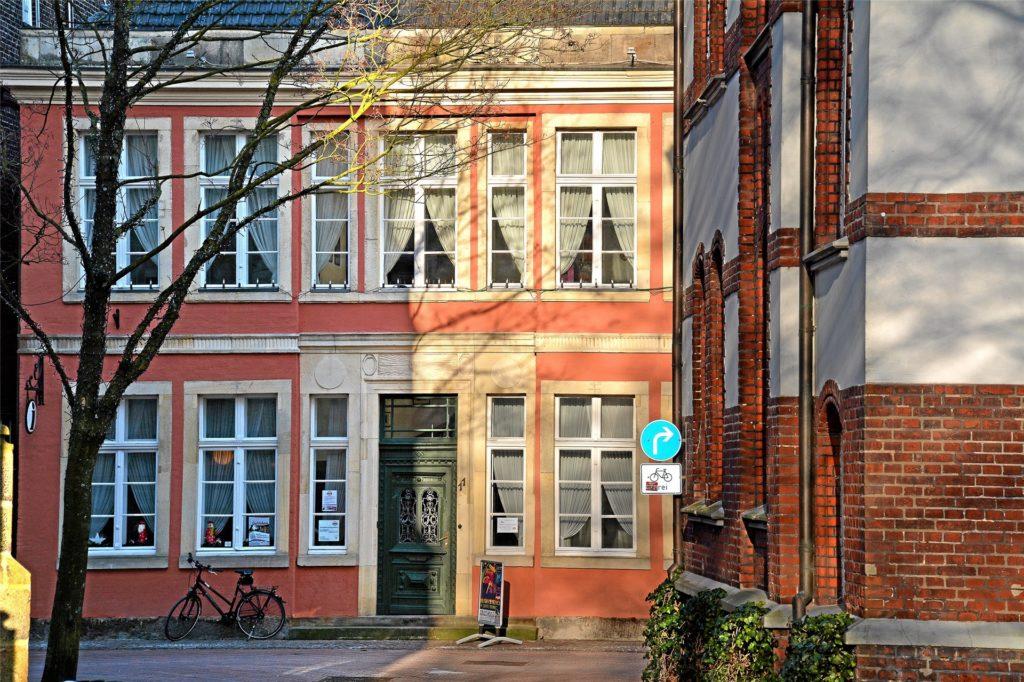 Das Haus Hakenfort ist nach wie vor der beliebteste Trauungsort in Stadtlohn – auch wenn sich dort 2020 wegen der Umarbeiten deutlich weniger Paare das Ja-Wort gaben.