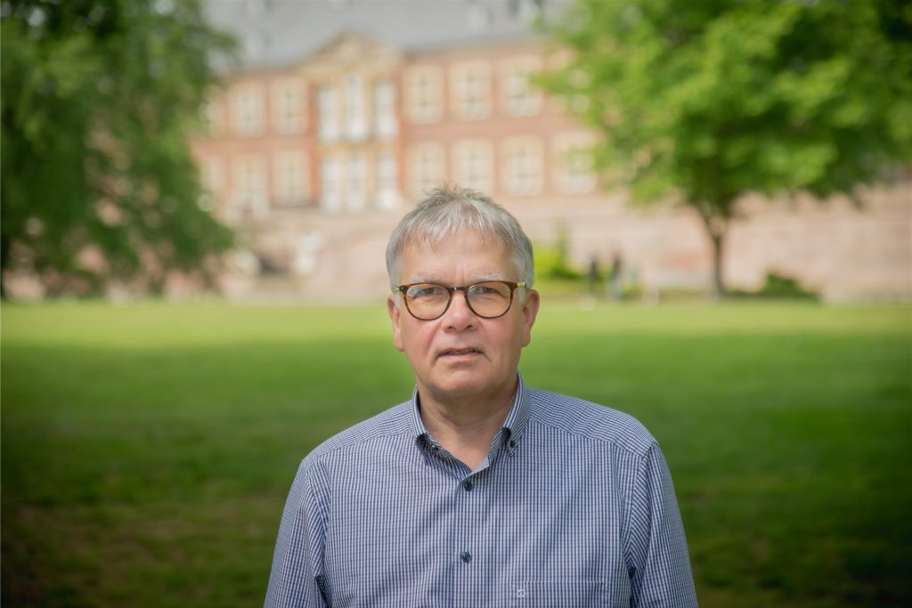 Hubert Kersting, Fraktionsvorsitzender der UWG Ahaus.