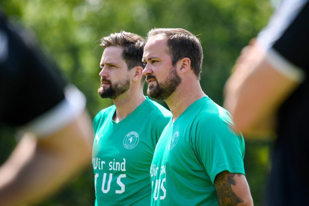 Steven Koch (rechts) ist seit Oktober 2019 Trainer beim TuS Westfalia Wethmar.