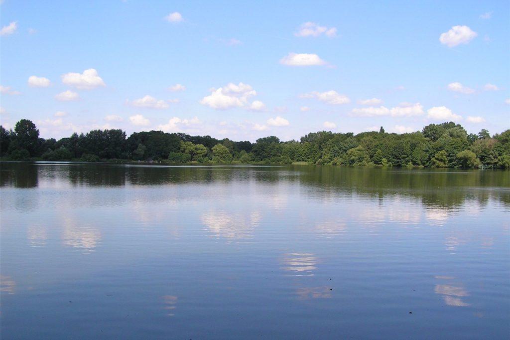 Blick auf den Blauen See in Holsterhausen.