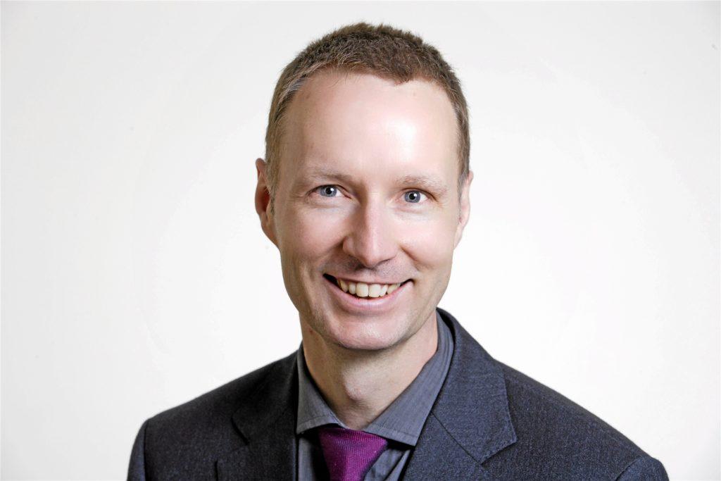 Dr. Harald Krauß, Chefarzt der Klinik für Psychiatrie und Psychotherapie des Marien-Hospitals in Dortmund-Hombruch