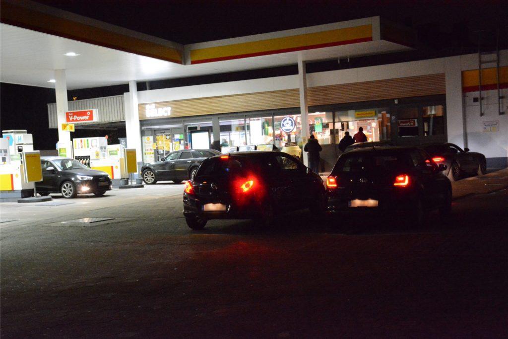 Tankstelle an der Schützenstraße in Dortmund