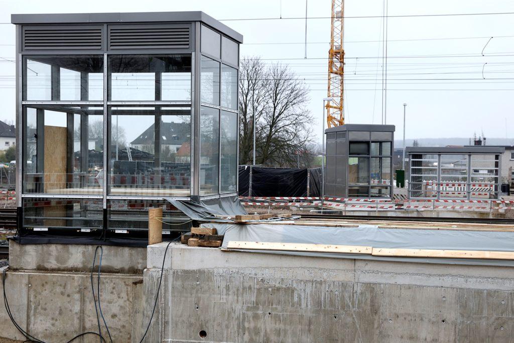 An jedem Bahnsteig gibt es in Zukunft einen Aufzug.