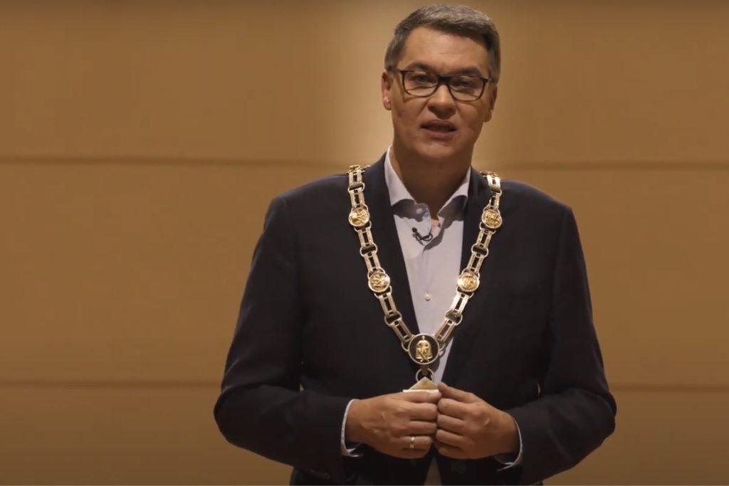 Die Neujahrsansprache von OB Thomas Westphal kann man auf der städtischen Homepage als Video abrufen.