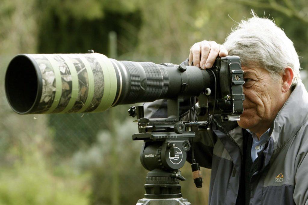 Walter Honert fängt die Natur mit seinem 500-Millimeter-Objektiv ein.