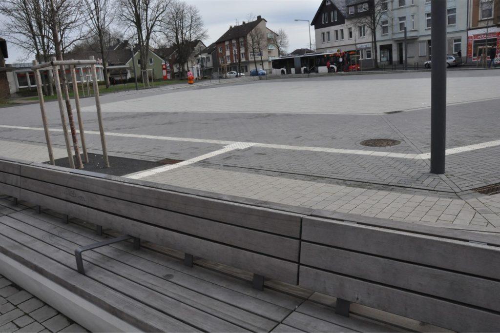 Der Bürgerplatz gilt als neue Mitte in Lünen-Süd.