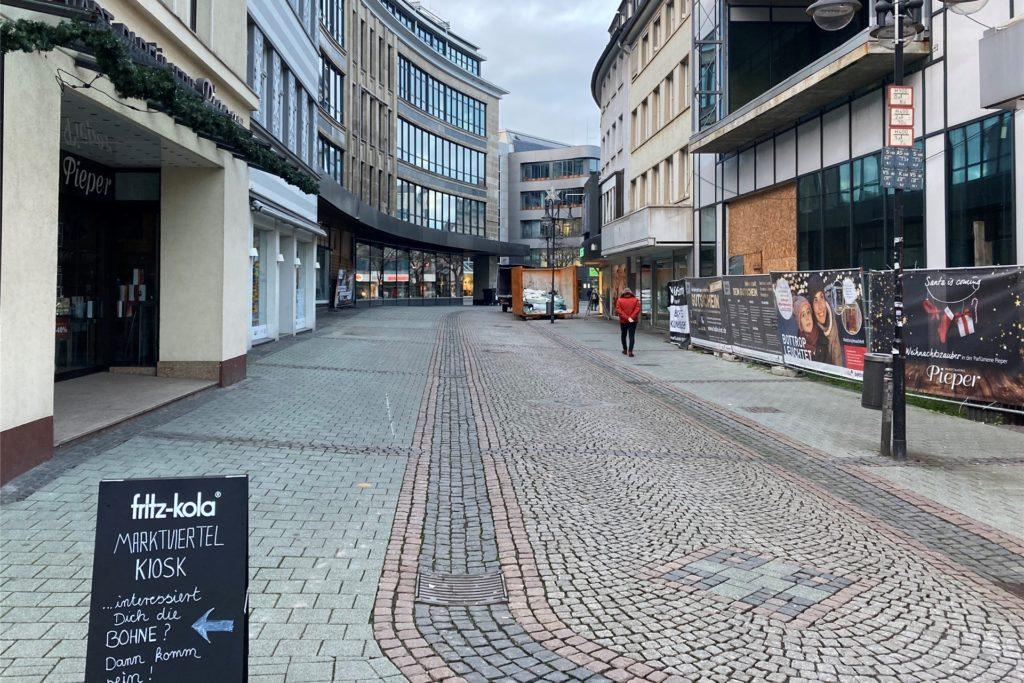 Hansastraße Bottrop Althoff-Arkaden