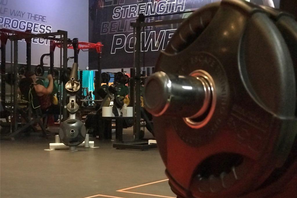 Das Sportforum an der Bahnhofstraße hat seit dem zweiten Lockdown Trainingsgeräte an Mitglieder verliehen.
