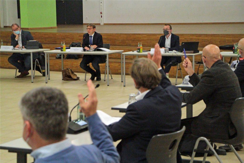 Die für Januar geplanten Ausschusssitzungen wurden in Werne abgesagt.