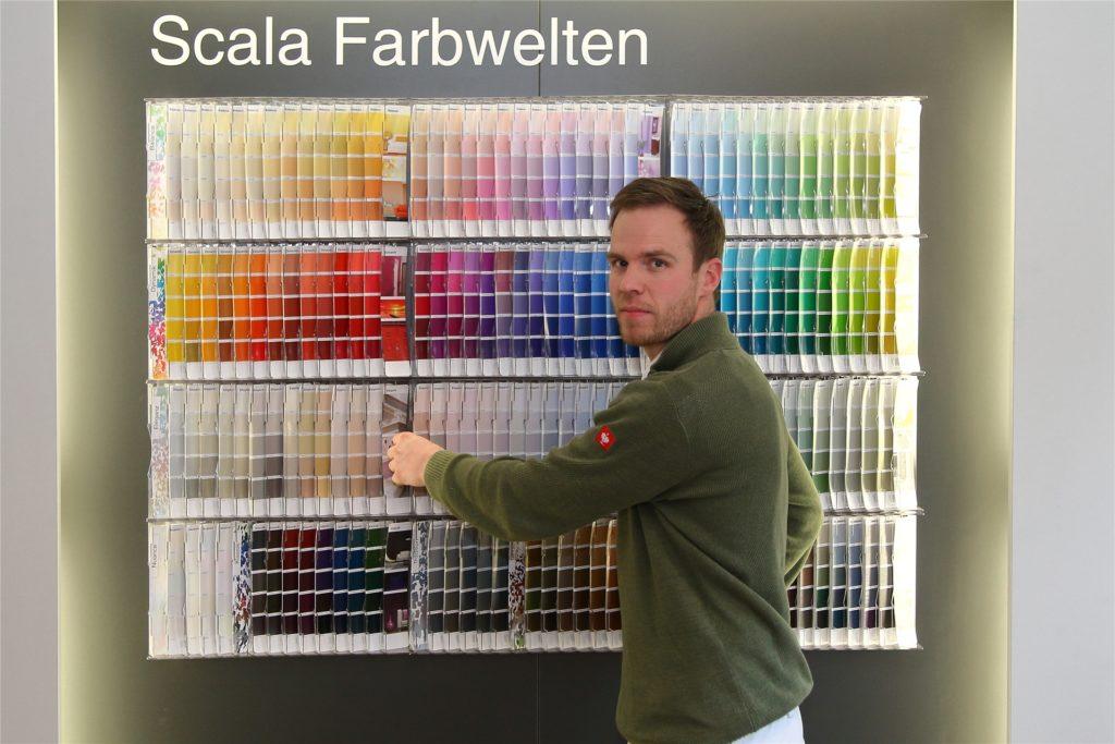 Maler- und Lackierermeister Stefan Hellkuhl kommt noch relativ gut durch die Krise und hat Mitgefühl mit anderen Berufszweigen.