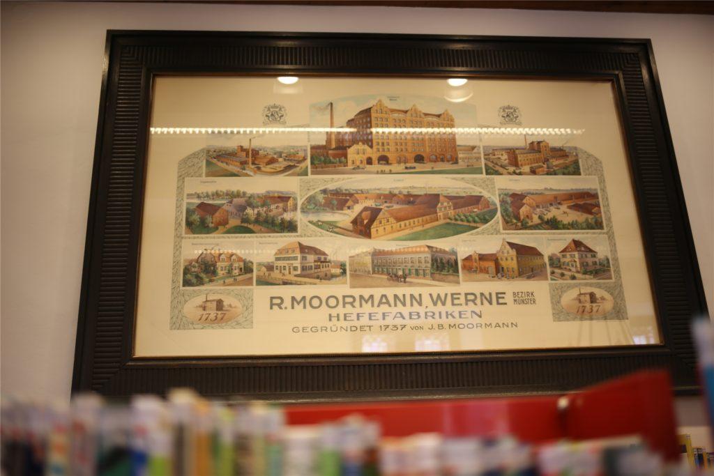 Unternehmensgeschichte in Bildern. Aus einer Kornbrennerei und kleinen Brauerei wurde einer von Deutschlands bedeutendsten Back-Hefe-Herstellern.