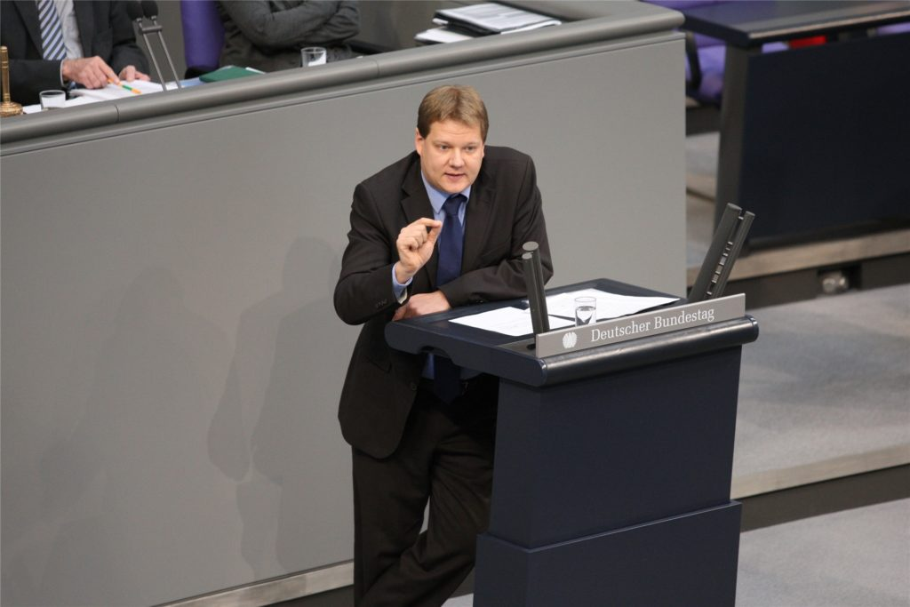 Sven Volmering im Bundestag