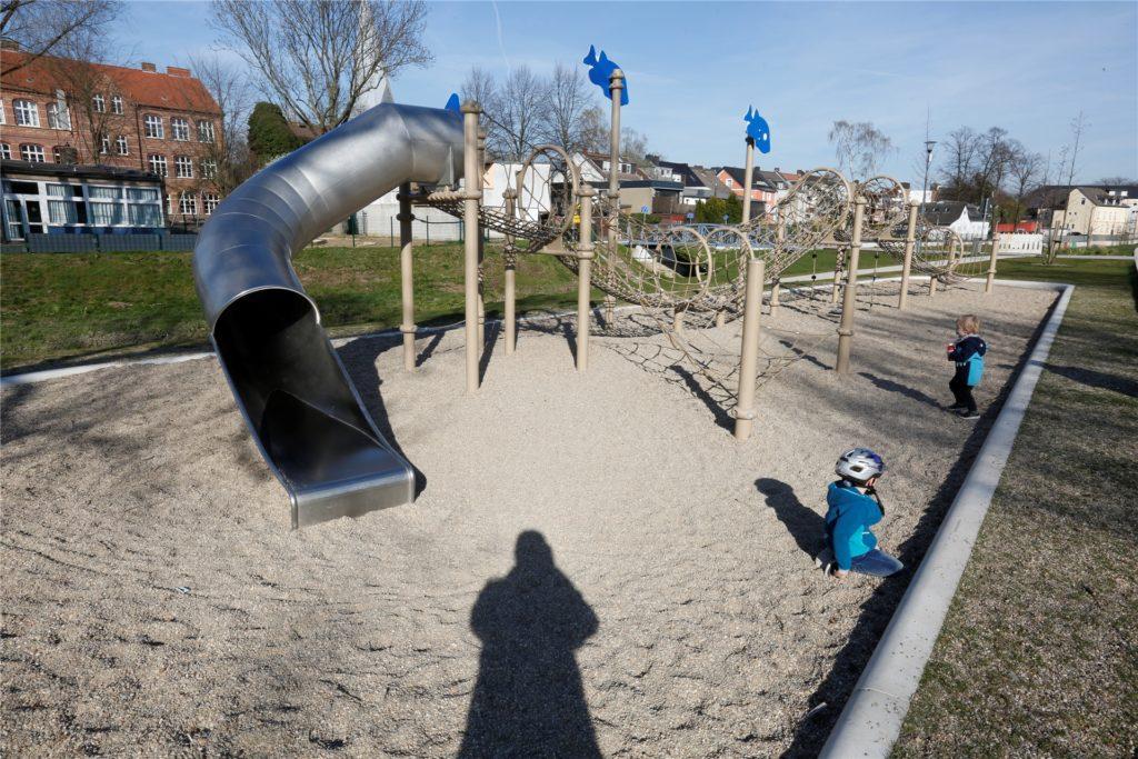 Mitten in Kamen und direkt am Sesekeweg liegt der Sesekepark, der zum Verweilen einlädt.