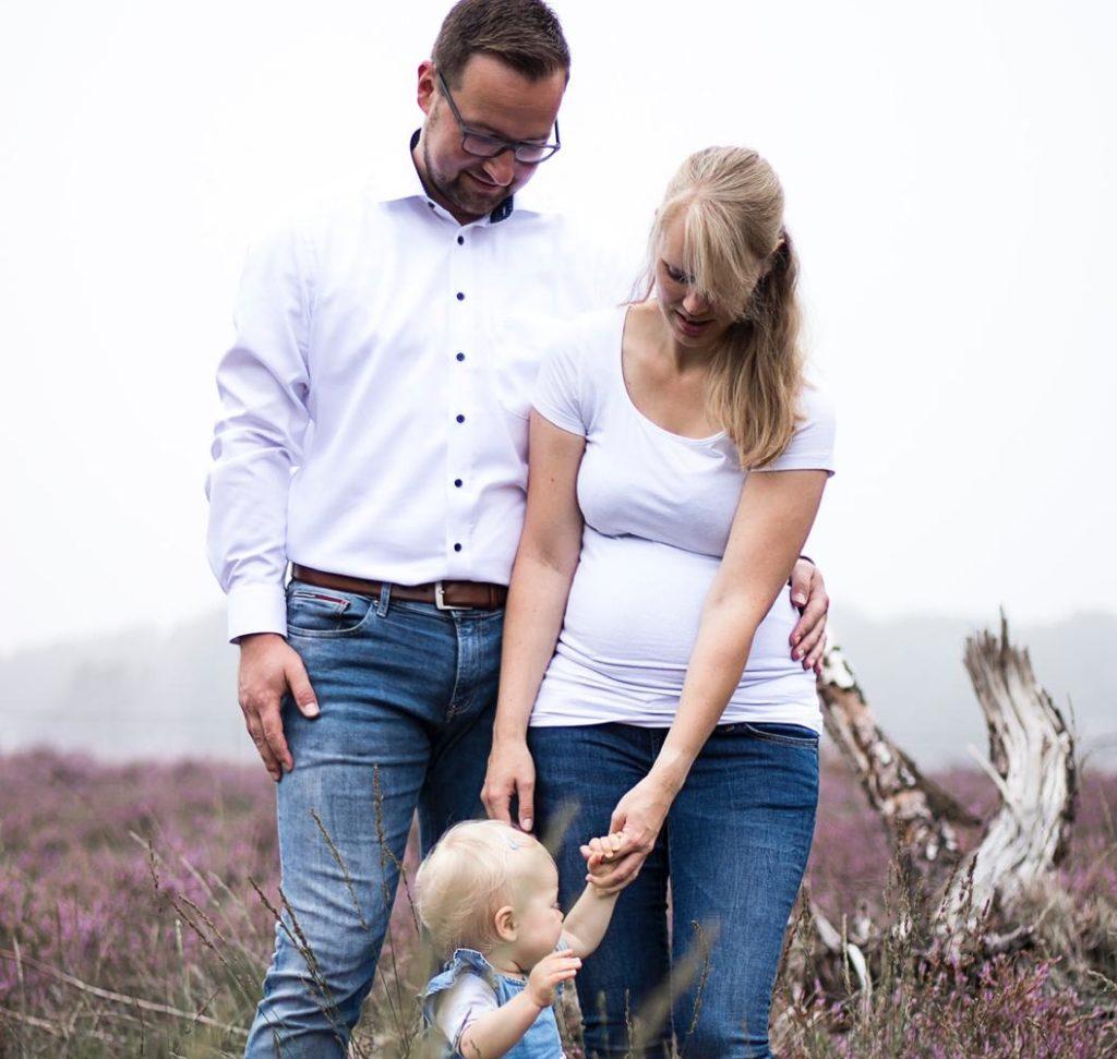 Naomi Herwig ist aktuell in der 38. Woche mit ihrem zweiten Kind schwanger.
