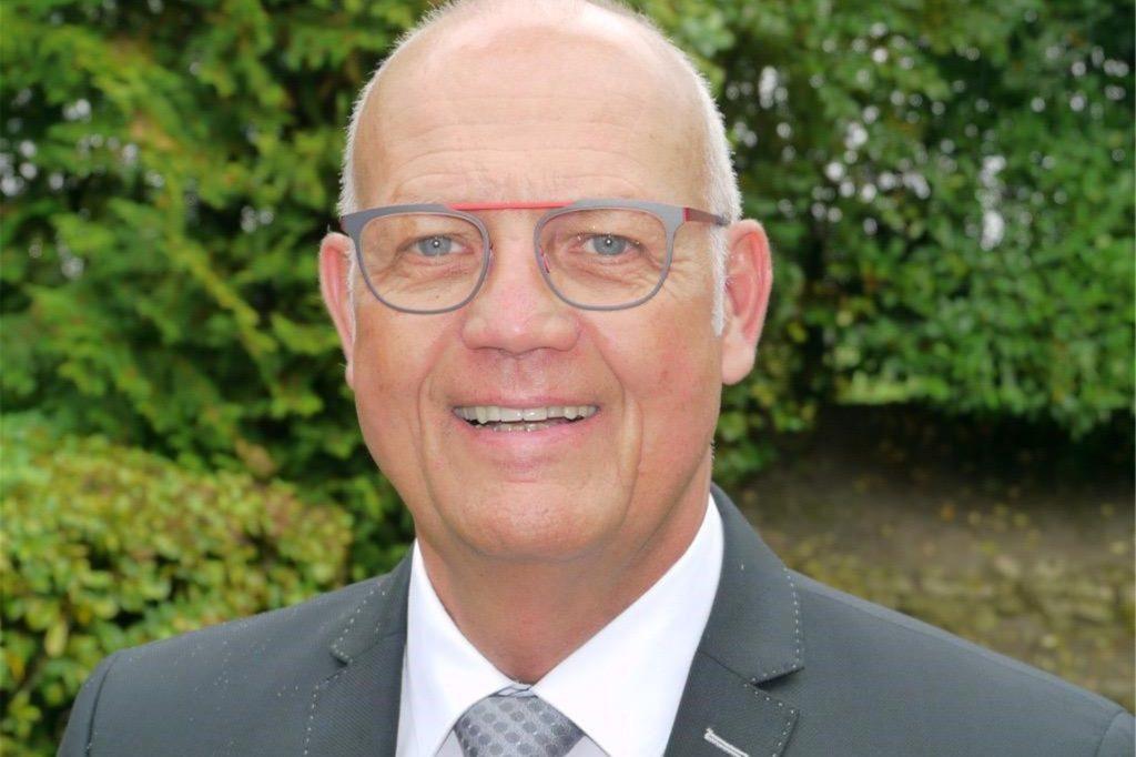 Obermeister der Baugewerken-Innung Ahaus, Ulrich Bogenstahl vom Bauunternehmen Bogenstahl in Legden