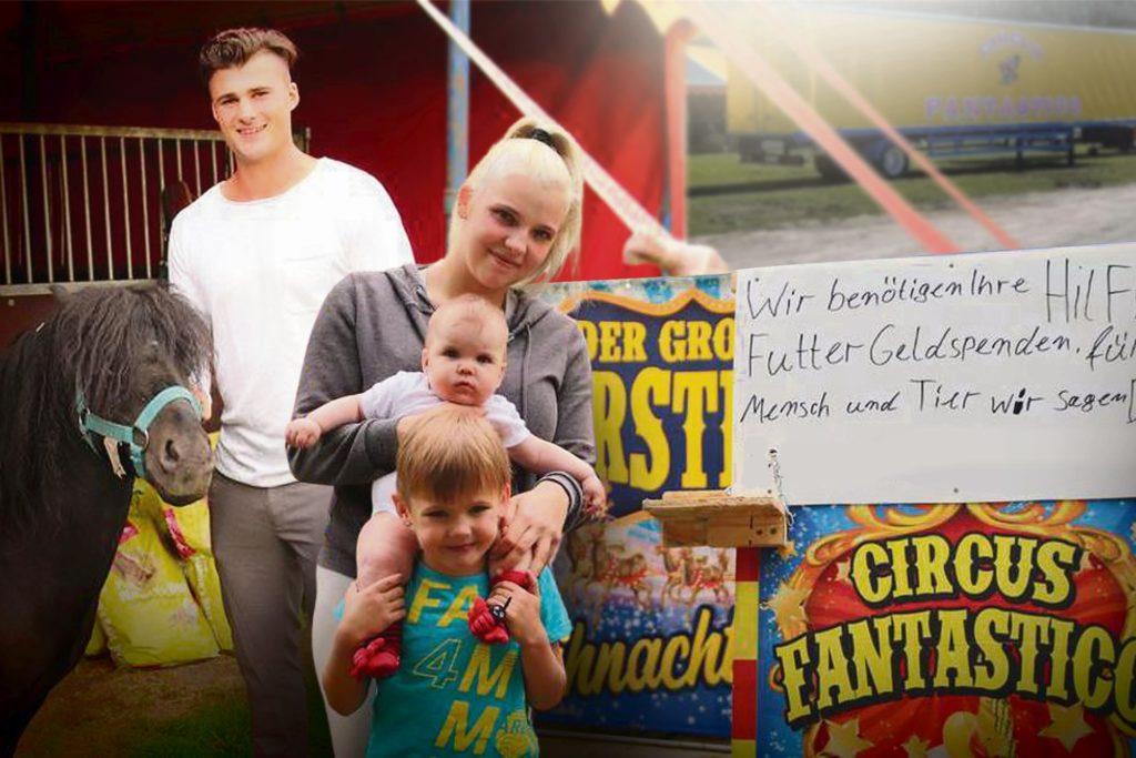 """Der """"Circus fantastico"""" hofft auf zahlreiche Spenden der Bürger."""