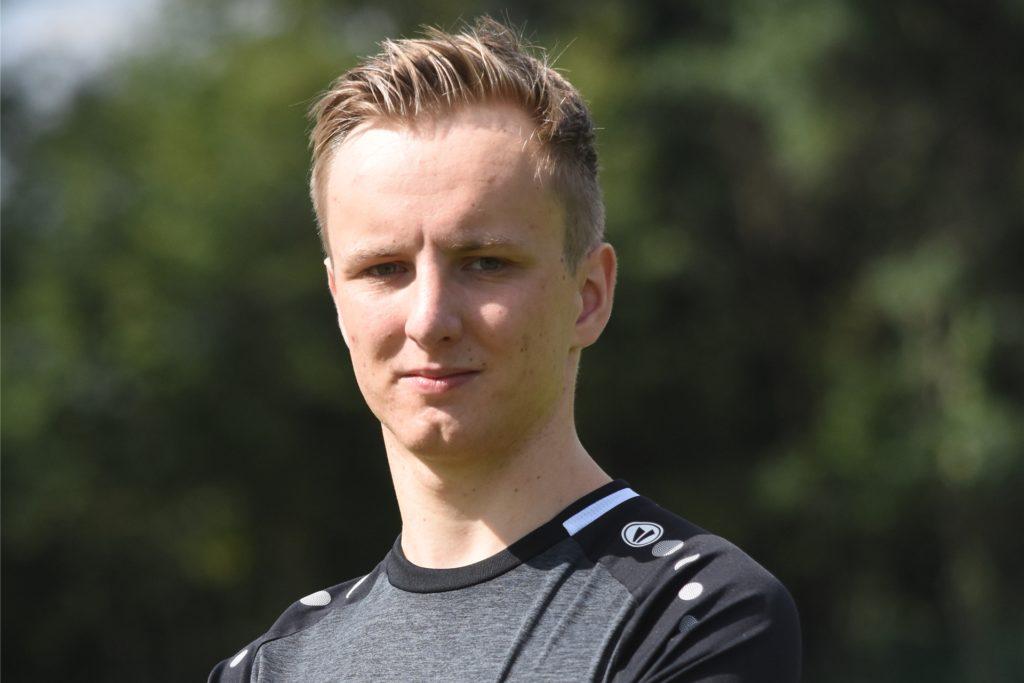 Nico Trahe steht auch im Kader der ersten Mannschaft vom SC Capelle.