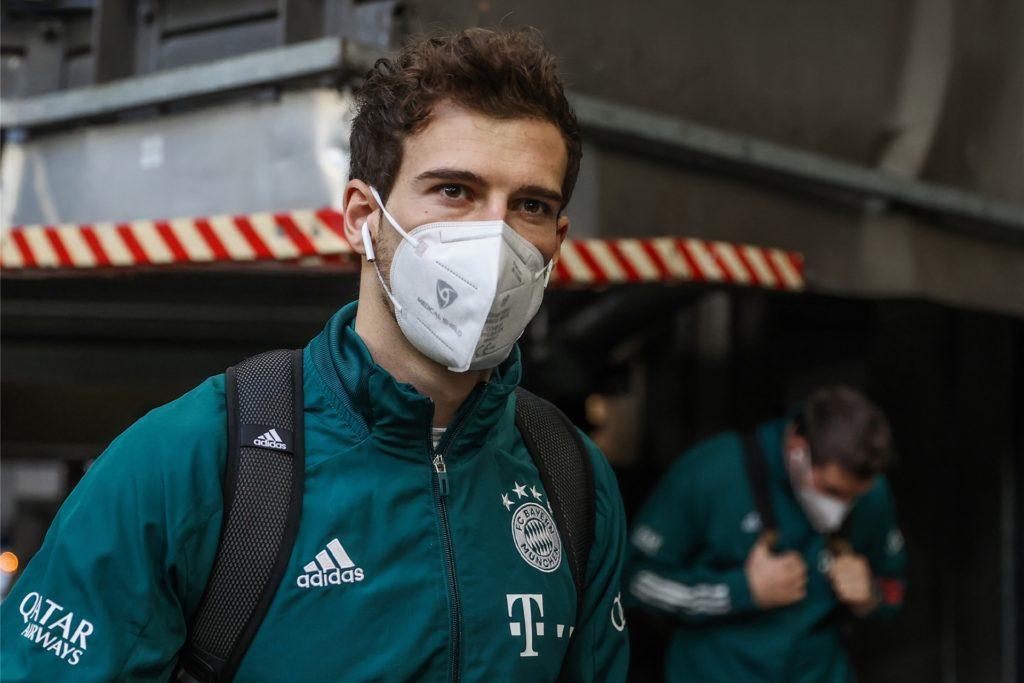 Mit dem FC Bayern München arbeitet das Ahauser Unternehmen Medical Shield schon zusammen: Mittelfeldspieler Leon Goretzka trägt eine der Masken, die Björn Borgmann produziert.