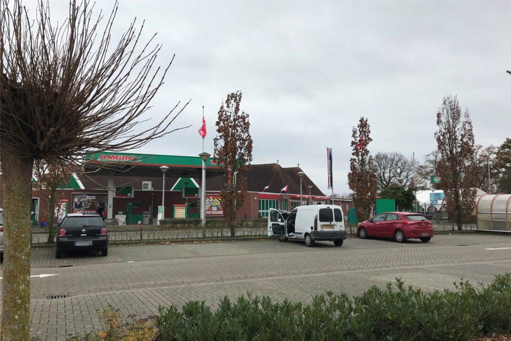 Der Parkplatz beim Hollandmarkt Ter Huurne soll vergrößert werden.