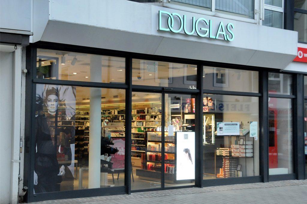 Eine große Marke verschwindet aus Schwerte: Die Parfümeriekette Douglas schließt ihre Filiale in der Fußgängerzone.