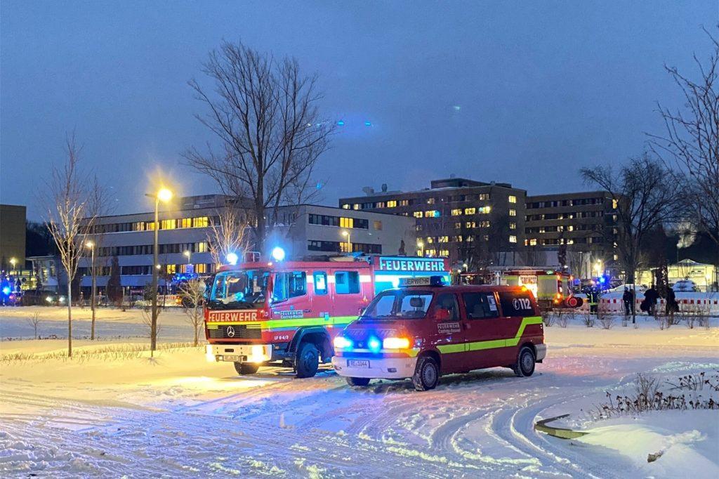 Viel Feuerwehr war im Einsatz.