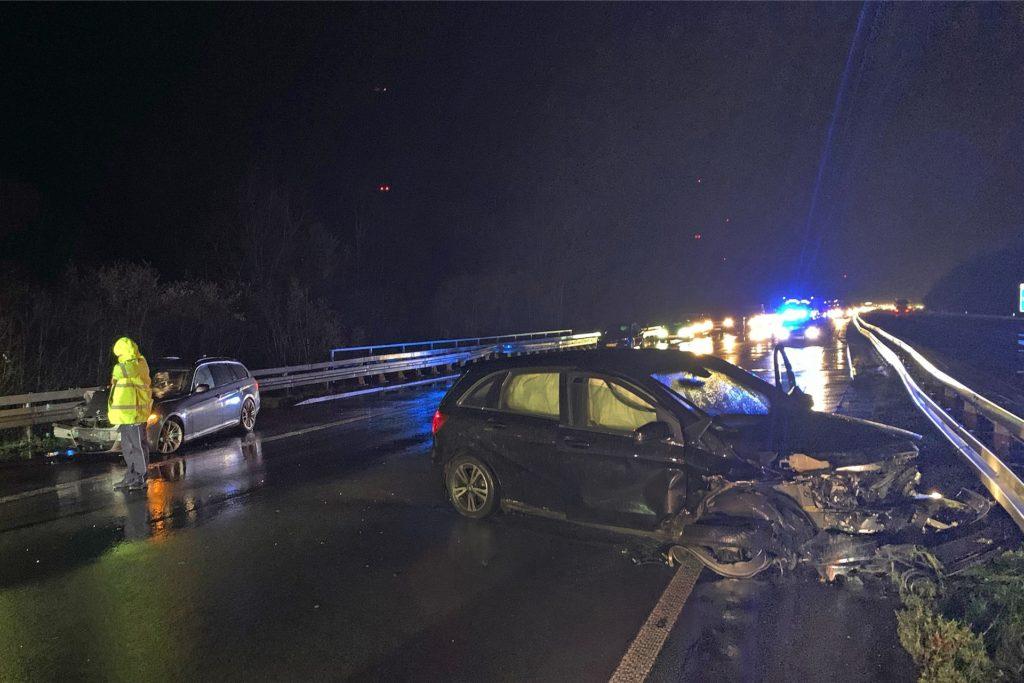 Ein Wochenende, zwei schwere Unfälle: Zwei Autofahrer wurden am 1. Februar 2020 verletzt.