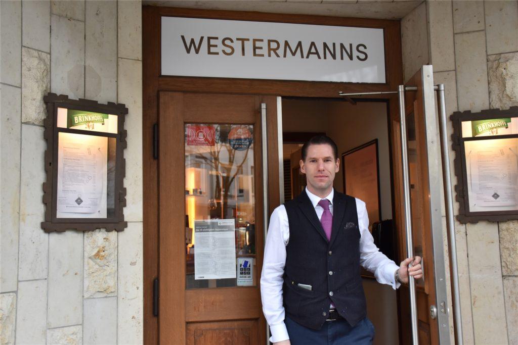 """Westermanns-Inhaber Manuel Kraas: """"Wir brauchen wieder Entscheidungsfreiheit."""""""