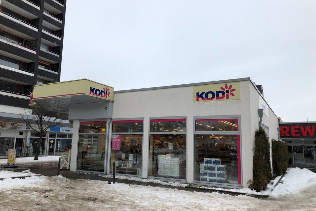 Die Kodi-Filiale im EKS in Scharnhorst war am Montag (15.2.) testweise geöffnet, durfte aber nur wenige Waren verkaufen