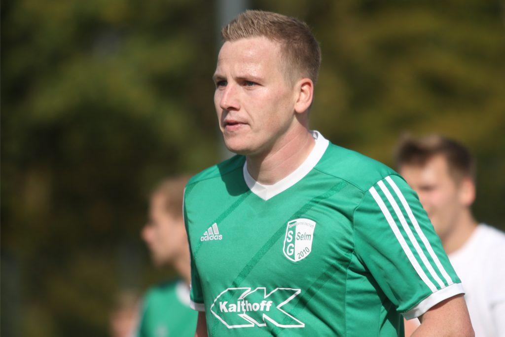 Tobias Lütjann macht als spielender Co-Trainer bei der SG Selm weiter.
