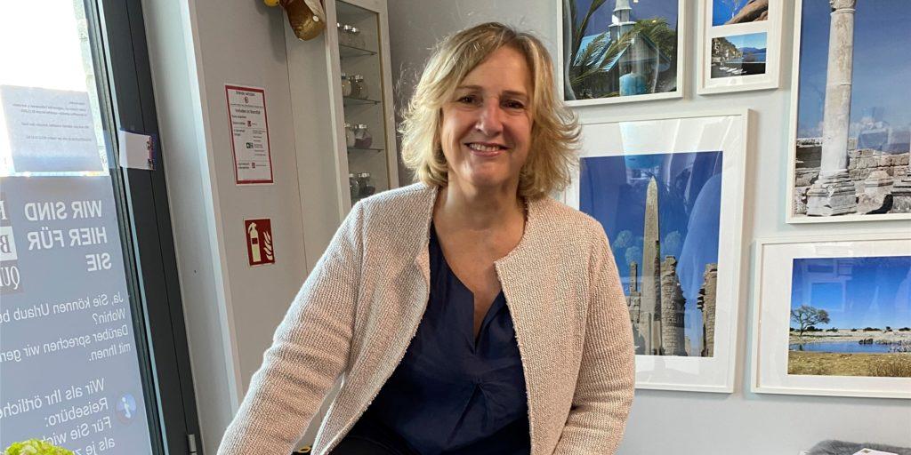 Gabi Quiatek betreibt in Dortmund ein Reisebüro.