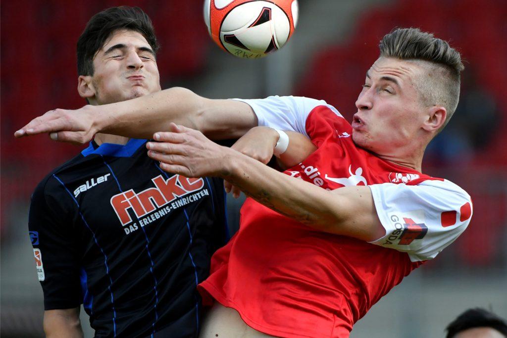 Philipp Grodowski hat seinen Vertrag in Hamm verlängert und besitzt eine Ausstiegsklausel.