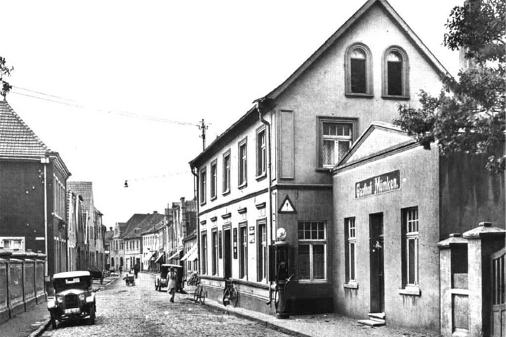 Auch das Hotel Mümken war in der Wüllener Straße zu finden im früheren Jahrhundert.