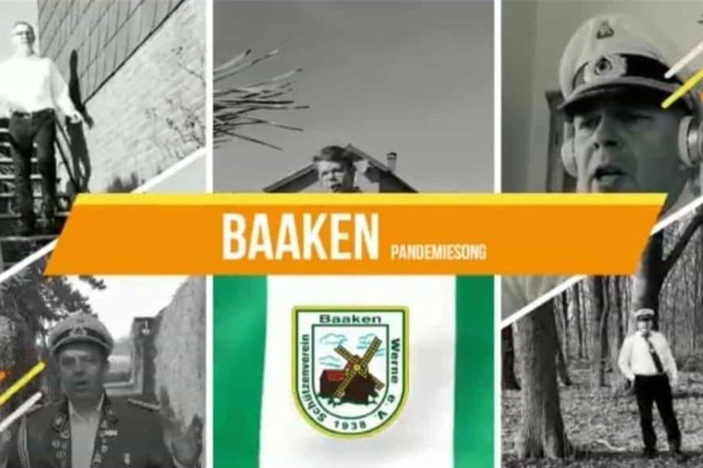 Mitglieder des Schützenvereins Baaken in Werne haben einen Pandemie-Song produziert. Dass der Beitrag derart für Furore und viele Klicks im Internet sorgt, hätten die Schützen nicht gedacht.