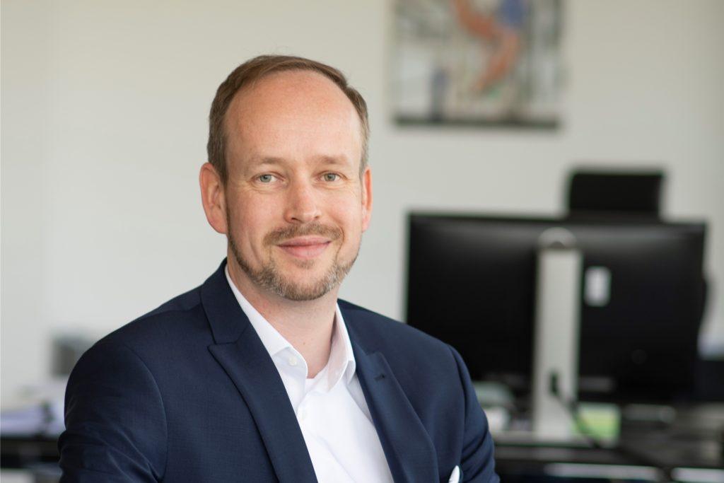Martin Wibbe ist Vorstandsvorsitzender des IT-Beratungsunternehmens Materna in Dortmund.